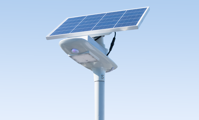 太陽光だから災害時にも強いソーラー防犯灯・ソーラー非常灯のセーリング5010の全体写真