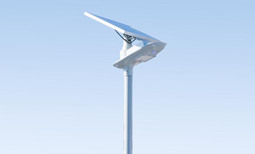太陽光だから災害時にも強いソーラー防犯灯・ソーラー非常灯のセーリング5010の横写真