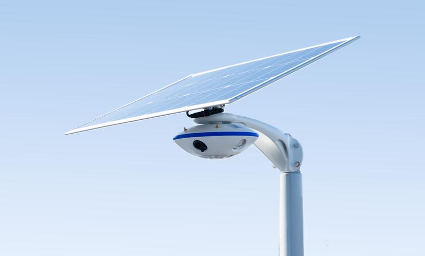 太陽光だから災害時にも強いソーラー防犯灯・ソーラー非常灯のSGN-C9Wの全体写真