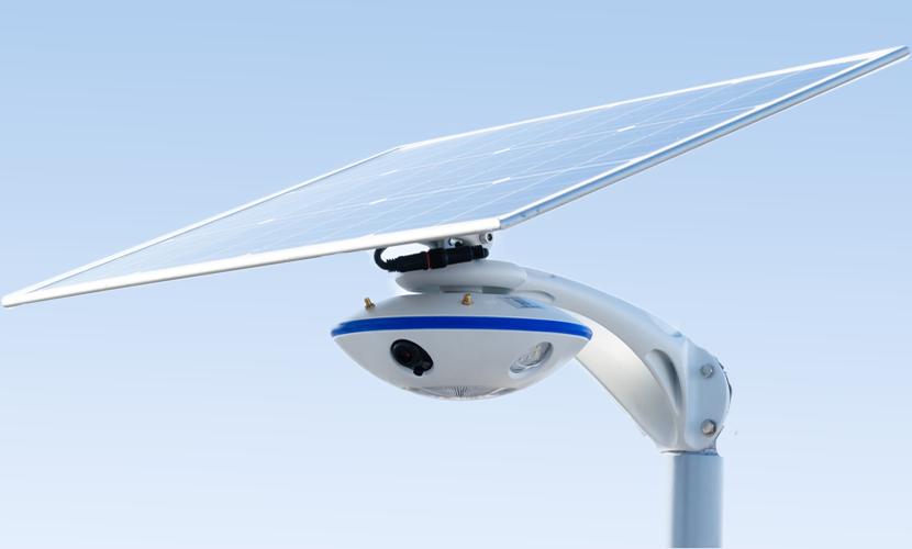 太陽光だから災害時にも強いソーラー防犯灯・ソーラー非常灯のSGN-C9Wの写真