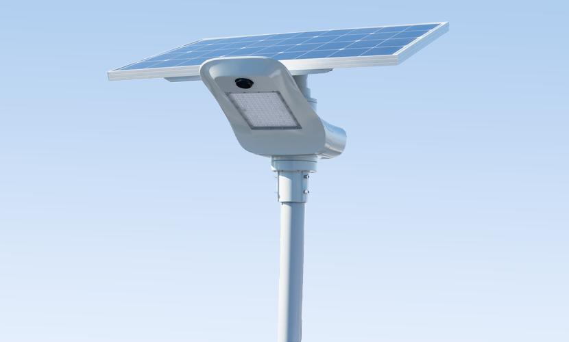 太陽光だから災害時にも強いソーラー防犯灯・ソーラー非常灯のpg300の写真