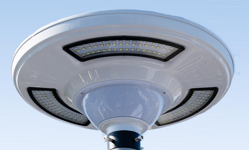 太陽光だから災害時にも強いソーラー防犯灯・ソーラー非常灯のSC3のズーム写真