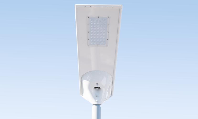 太陽光だから災害時にも強いソーラー防犯灯・ソーラー非常灯のスパーライト4540の写真
