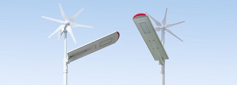 太陽光 風力 ダブル発電 ソーラー外灯