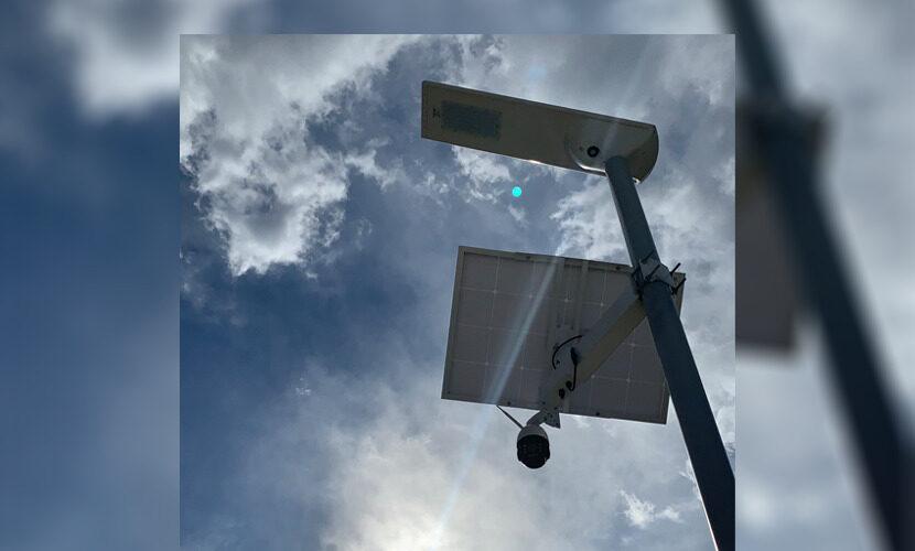 ソーラーセキュリティーライト1