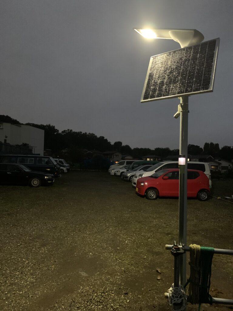 防犯カメラ付きソーラー外灯SIGEN-SecurityLight2
